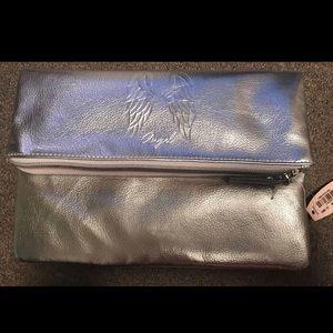 Victoria's Secret CLUTCH/ MAKEUP SILVER BAG